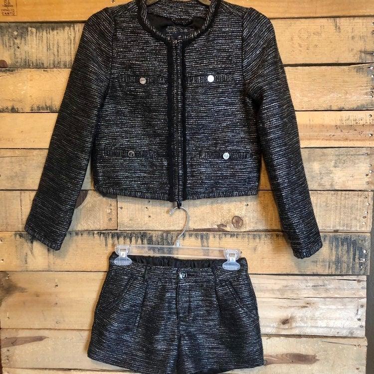 Gap Kids Metallic Tweed Outfit