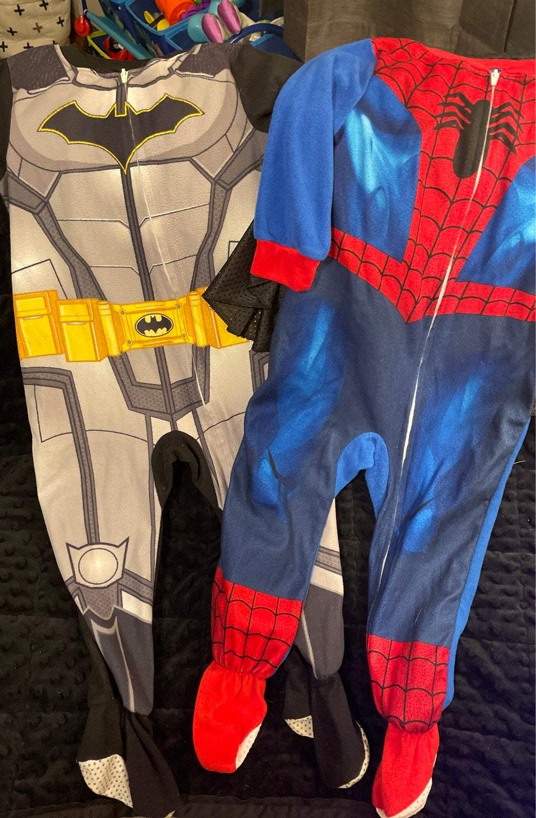 Batman and Spiderman Pajamas 3T