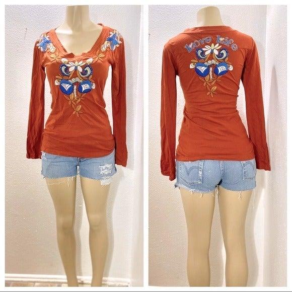 JWLA (Johnny Was) embroidered shirt