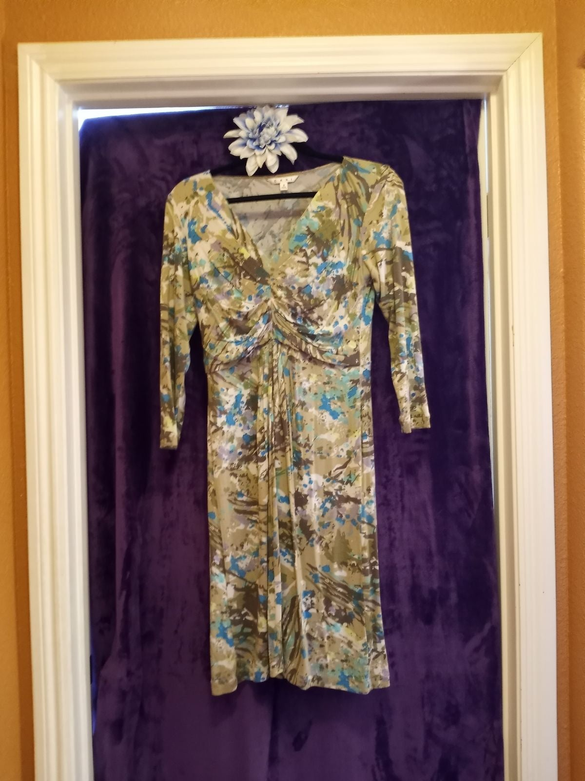 Small CAbi Floral Dress