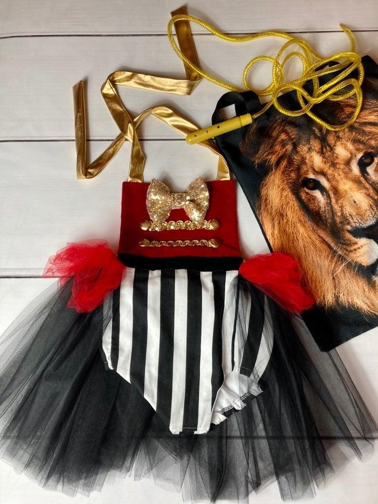 Custom lion tamer costume 3T