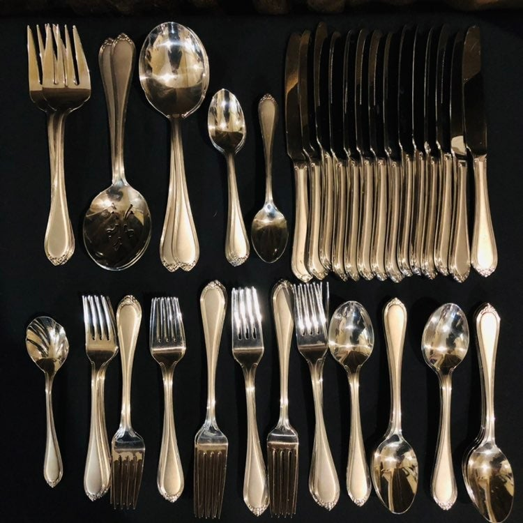 Wallace Stainless Flatware 70 pc lot