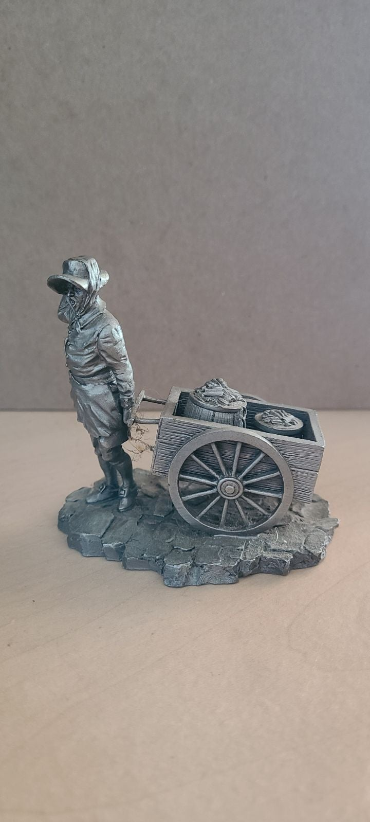 Colonial Charcoal Peddler Franklin Mint