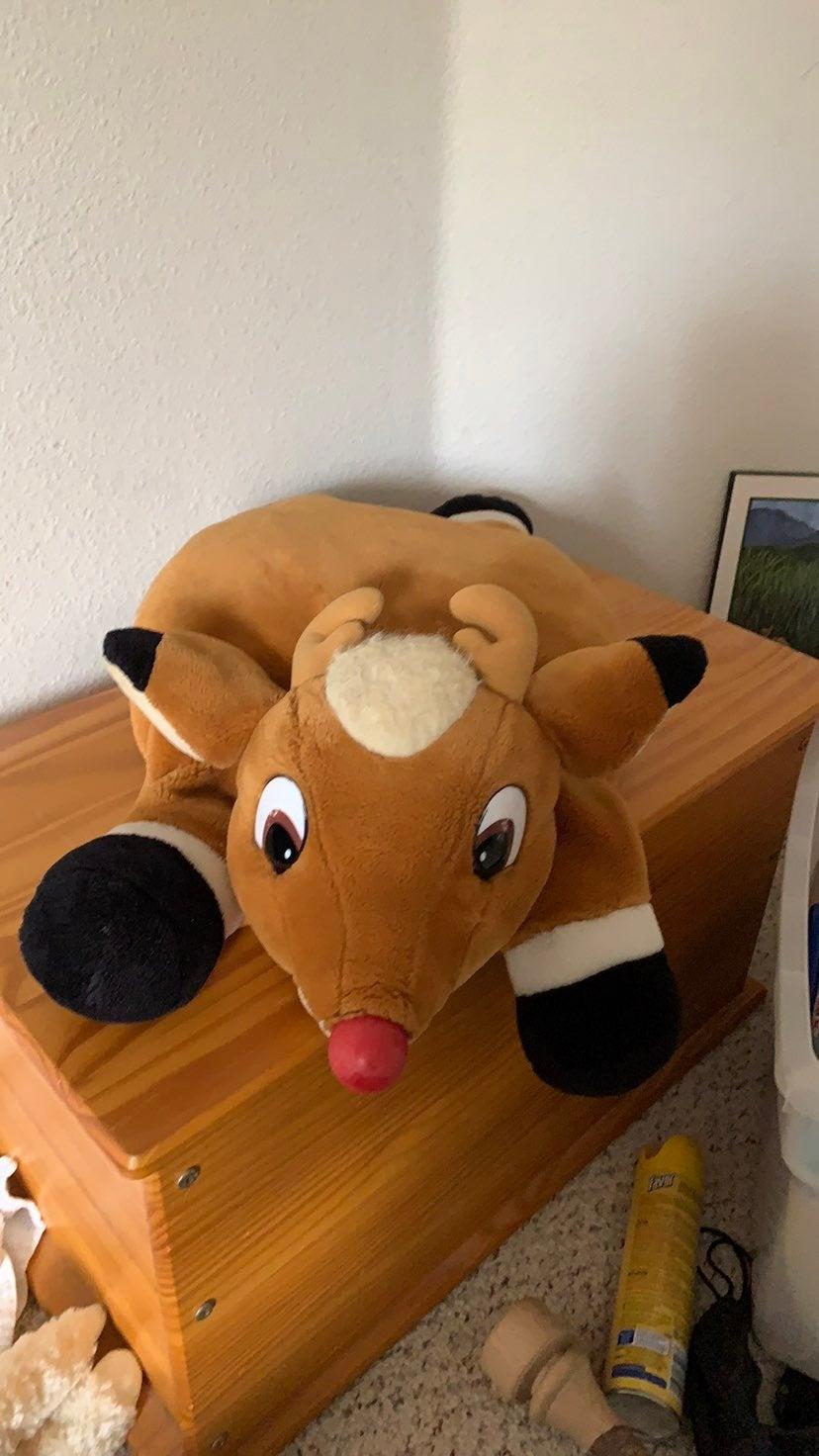 Cute rudolph  reindeer pillow or stuffed