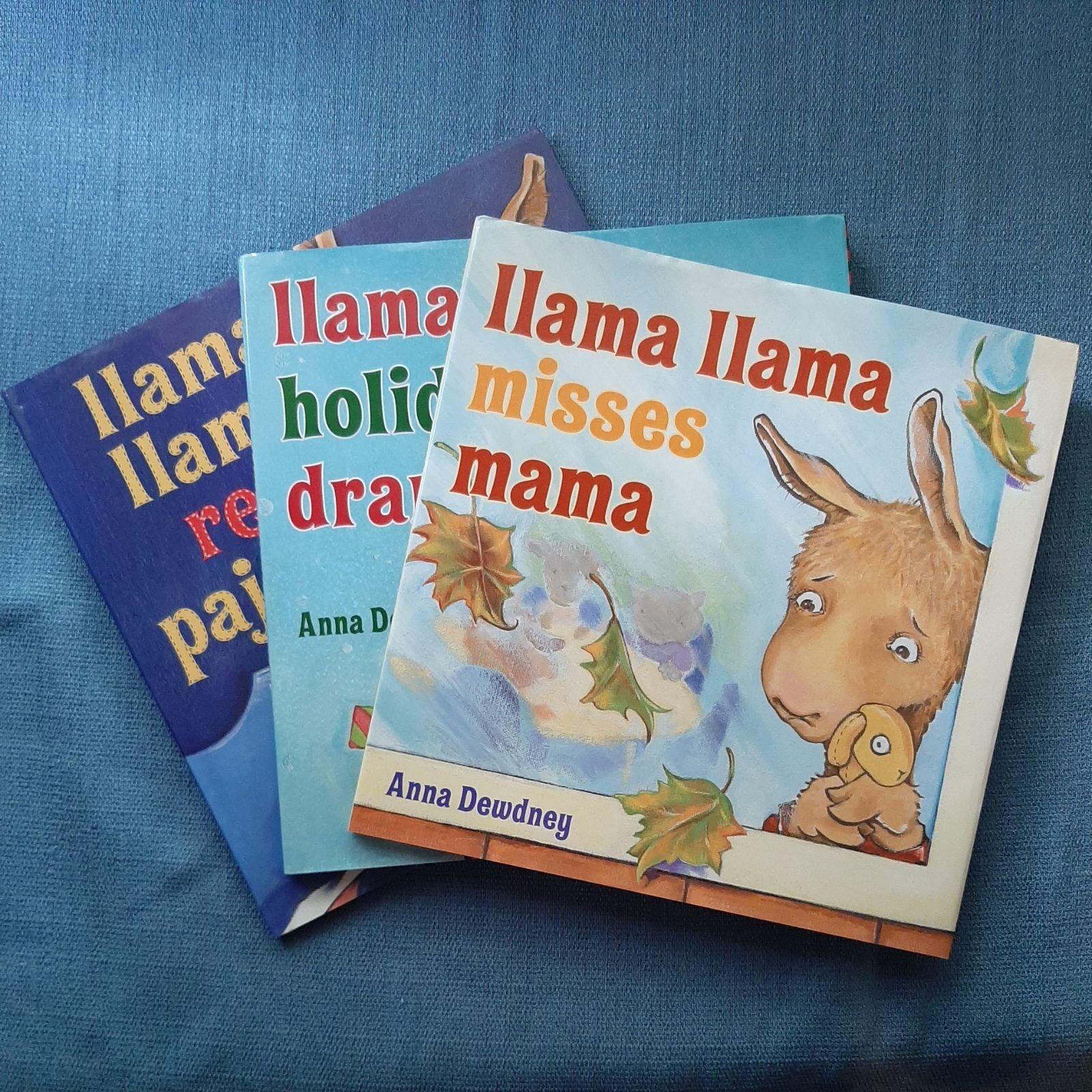 Llama Llama 3 Book Lot