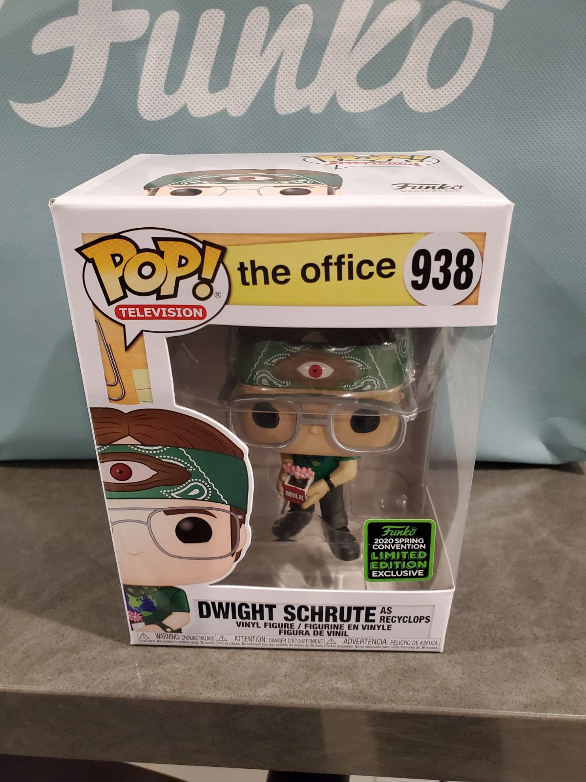 Funko POP ! Dwight Schrute as Recyclops