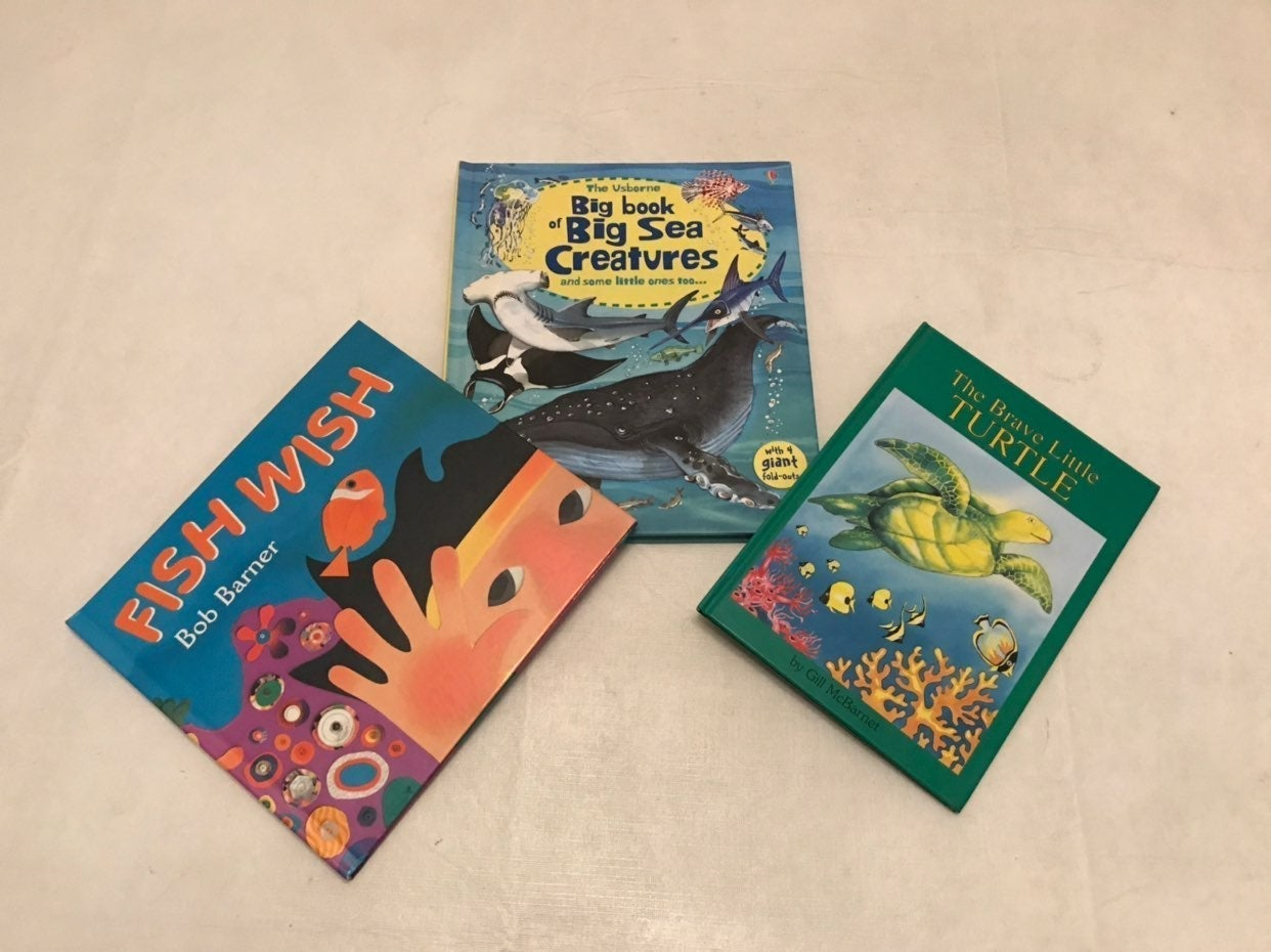 Children's  Book Lot: 3 Total