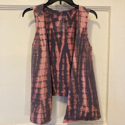 Le Shirt Small Pink Tie Dye Cotton Vest