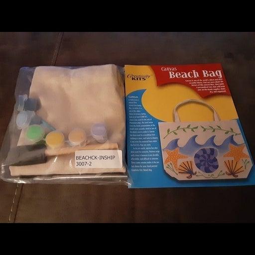 Canvas  bag art kit new