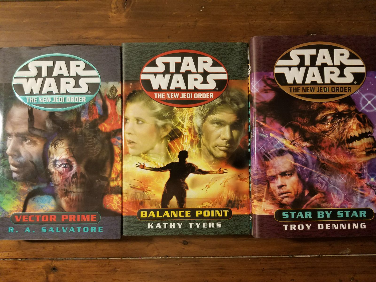 Star Wars The New Jedi 3 HC lot