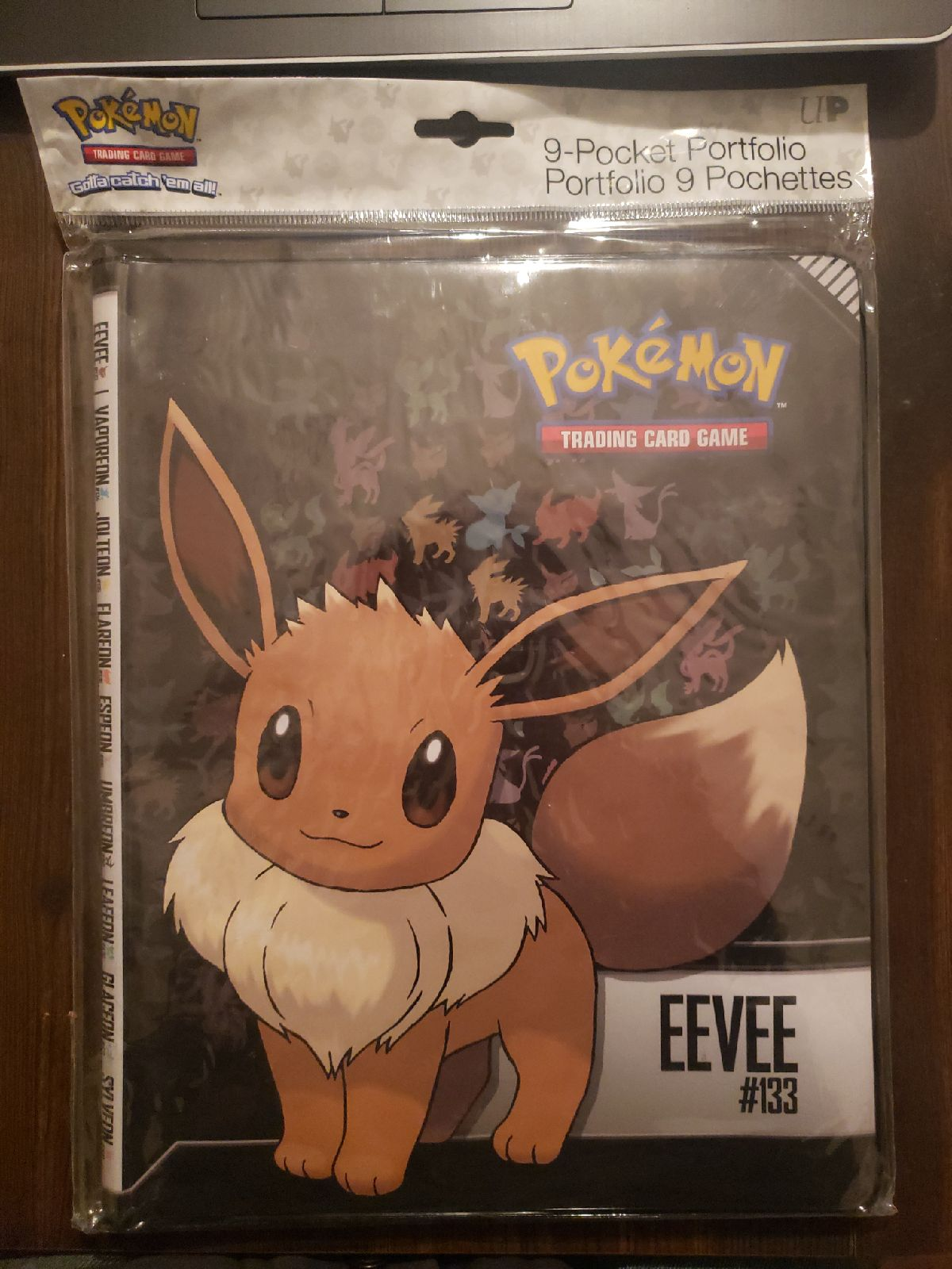 Eevee Pokemon Card Binder 9 Per Page