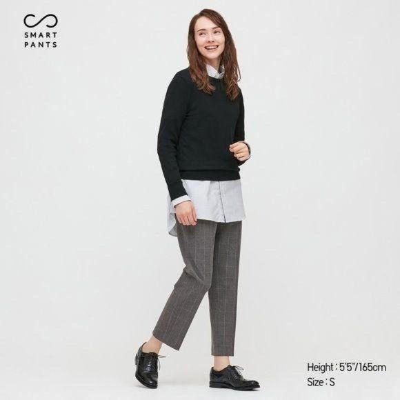 Uniqlo Smart Ankle Pants Brushed NWT