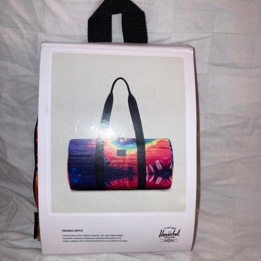 Herschel packable duffle multicolor