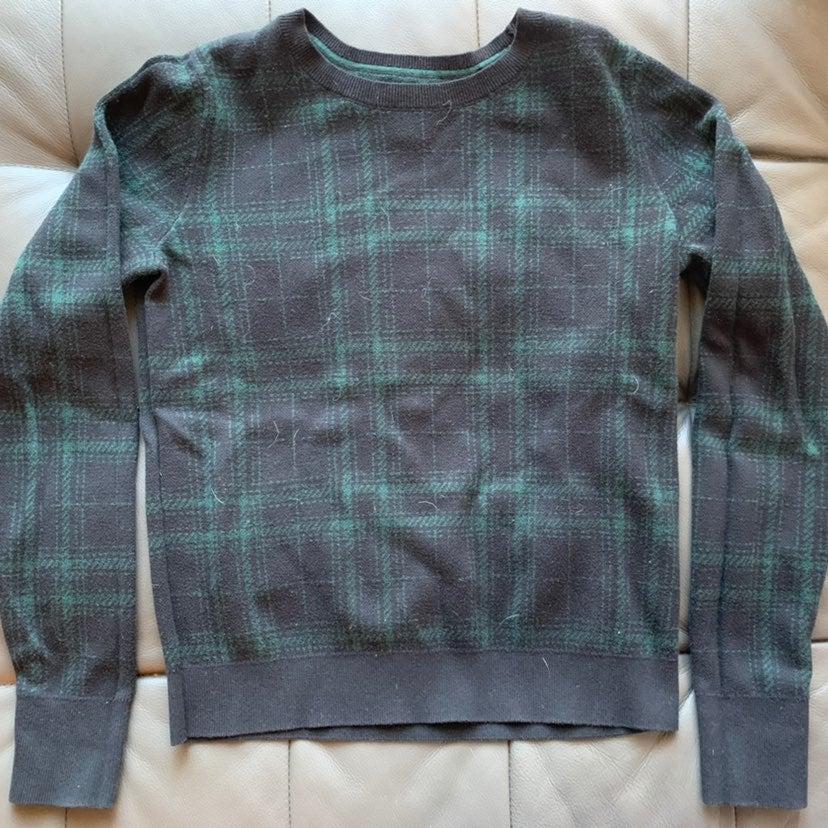 Bass plaid sweater