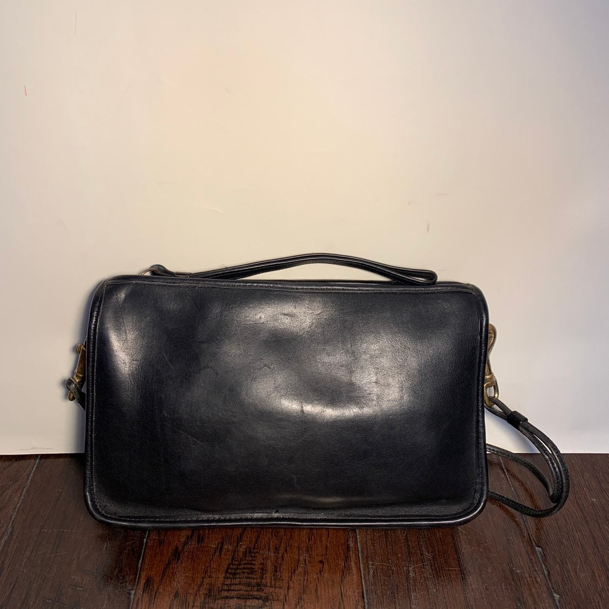 Vintage 80's Coach # 1712 Crossbody Bag