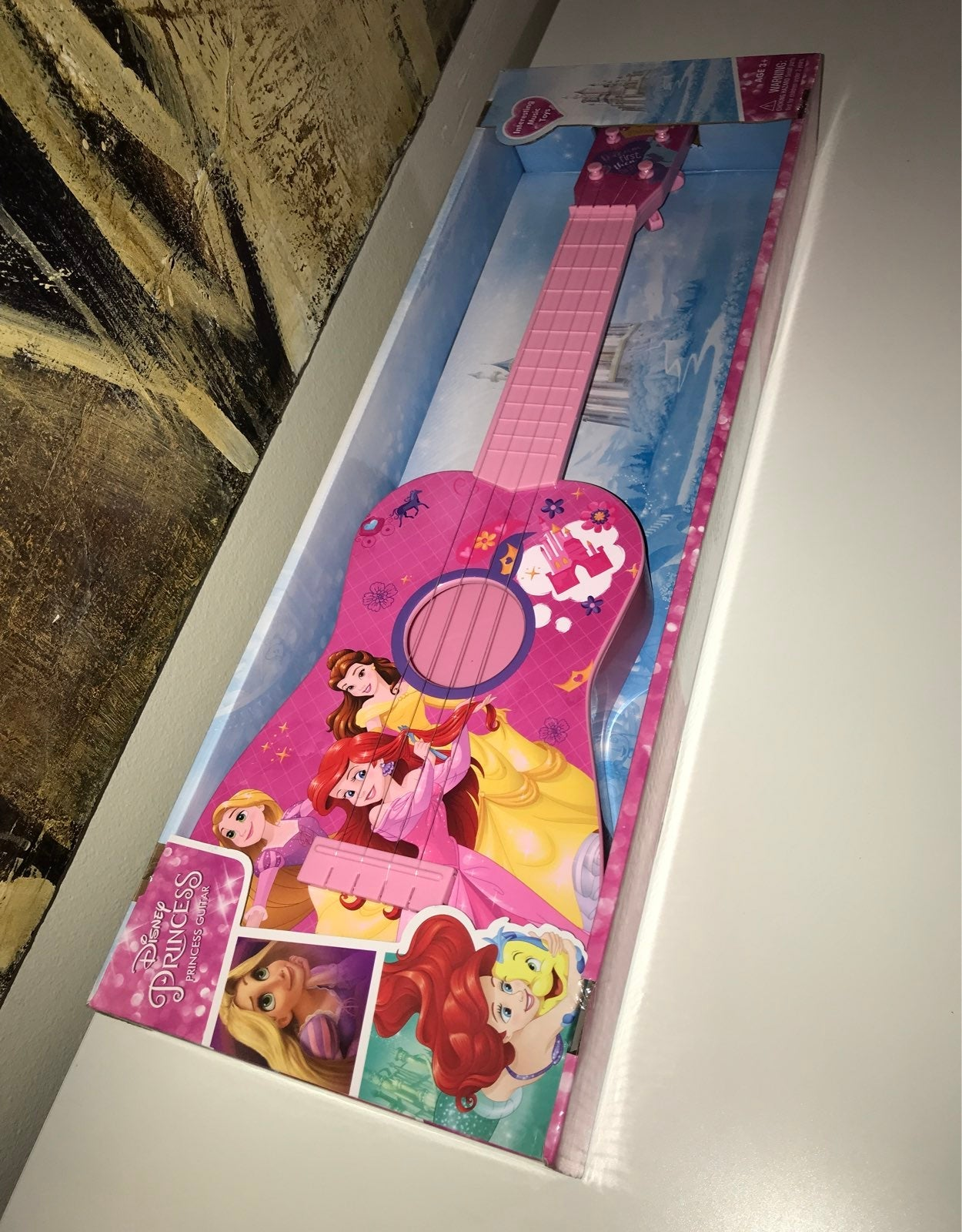 Disney Princess Guitar Music Toy Pink