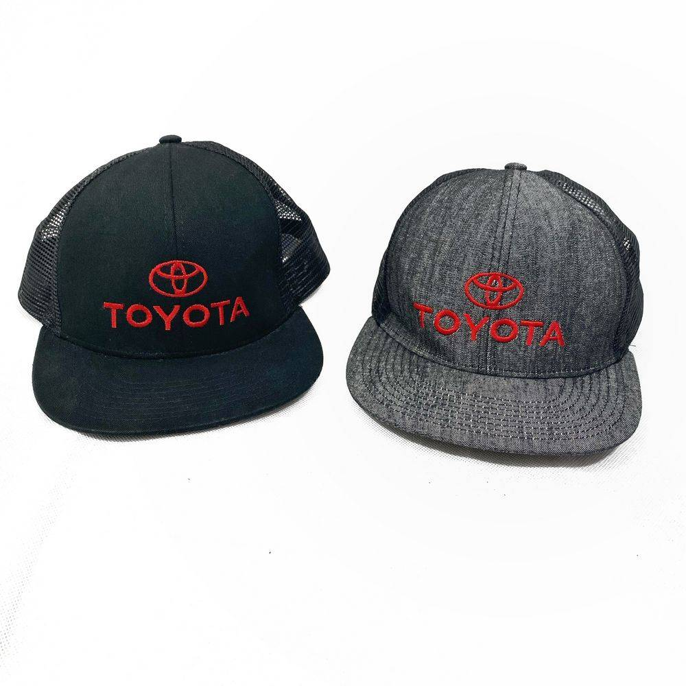 Toyota Men's Snap Back Black, Grey Hats