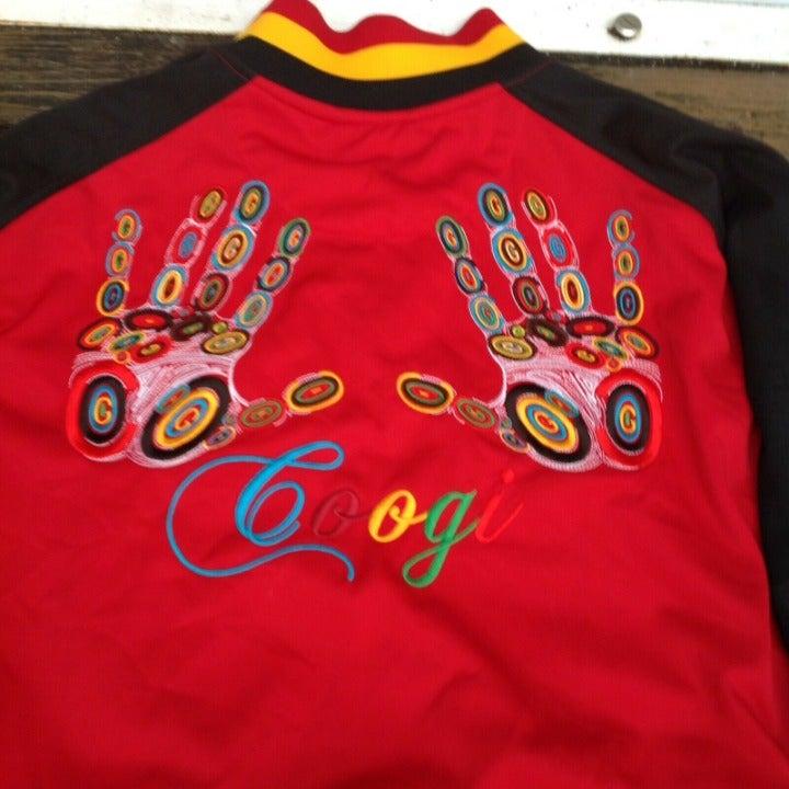 COOGI Logo Embroider Hands Track Jacket