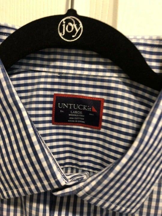 Untuckit  Short Sleeve Men's   LIKE NEW