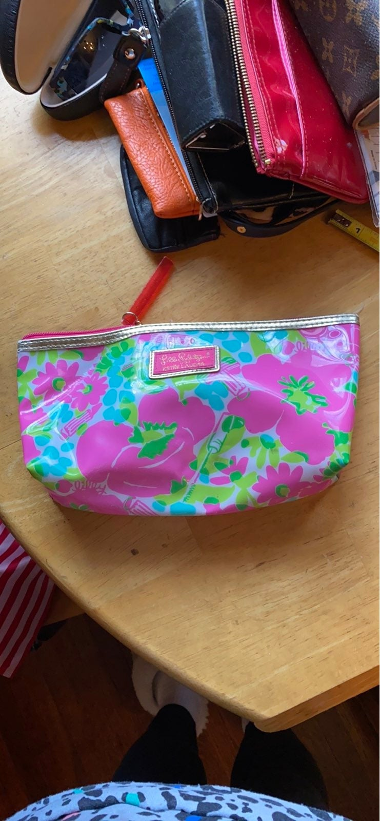 """Lilly Pulitzer cosmetic bag 10x4x2,5"""" in"""