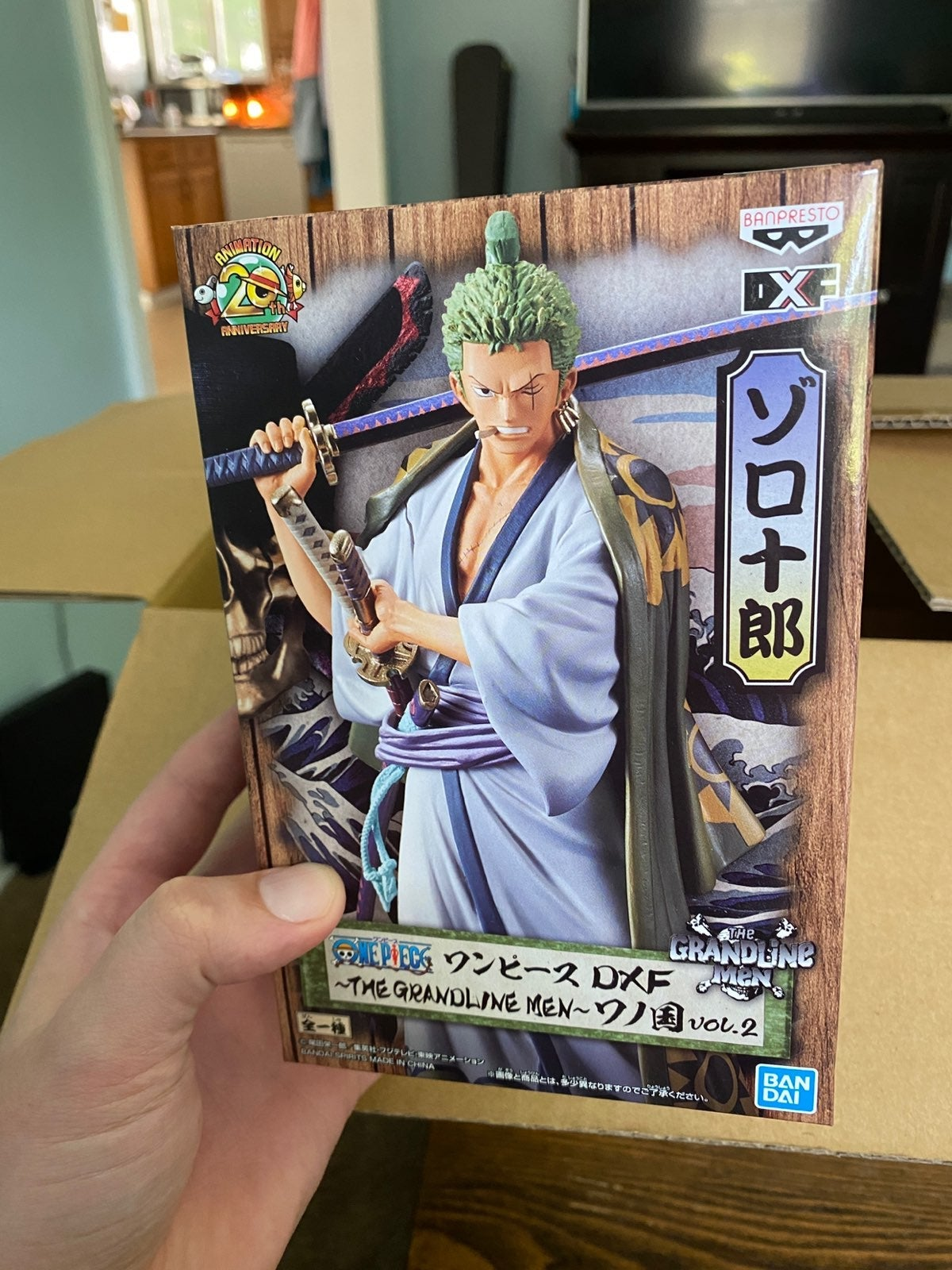 Roronoa Zoro One Piece Figure