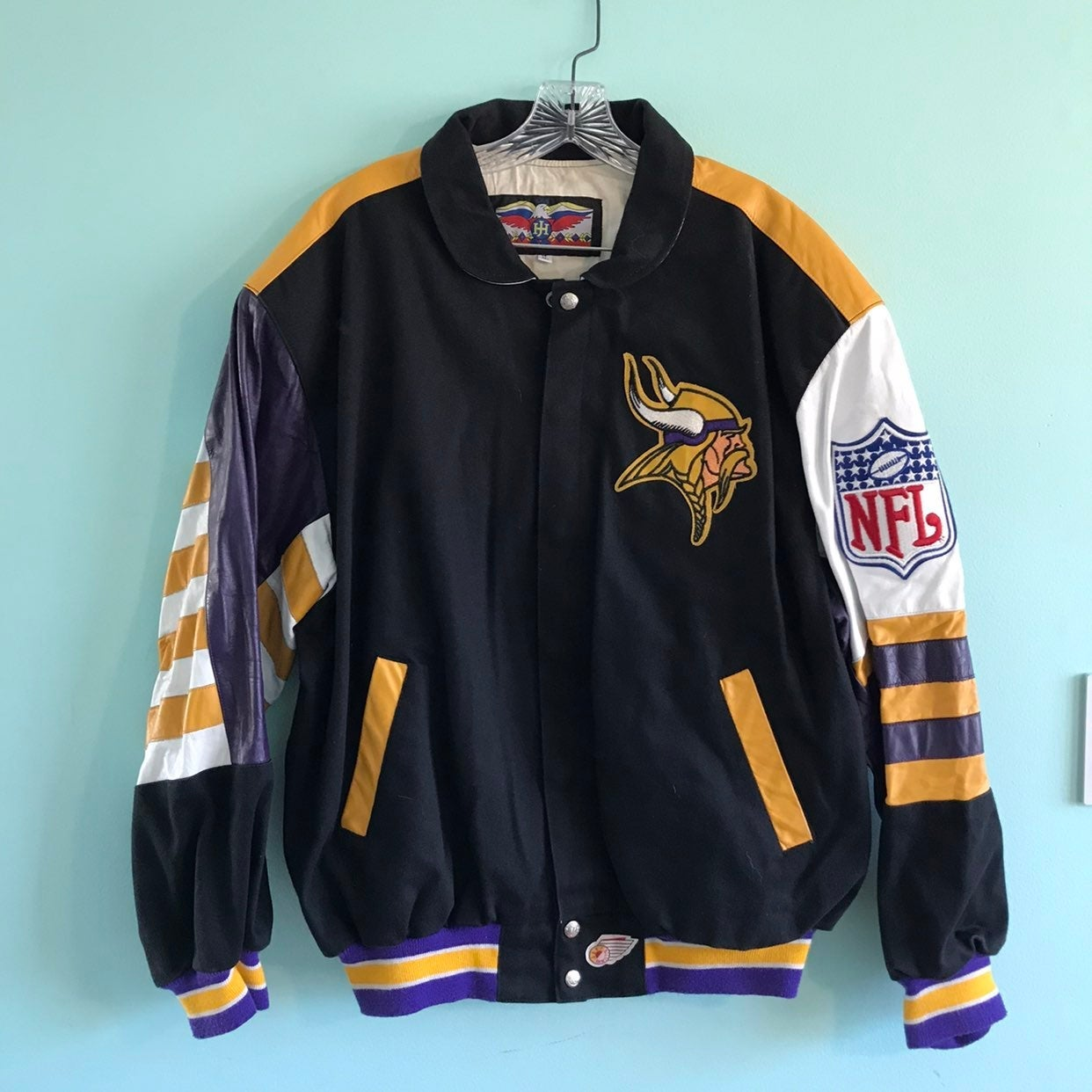 Minnesota Vikings NFL jacket RARE XL