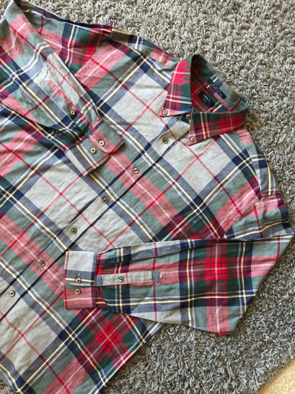 Lincs DC & Co Plaid Button Down Shirt