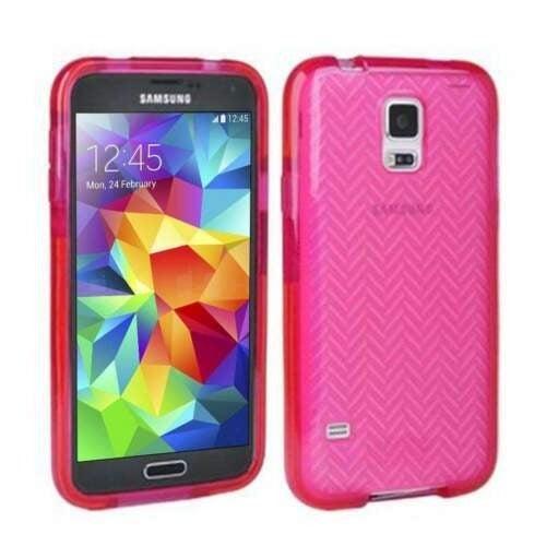 Samsung Galaxy S5 case by Tech 21 Pink