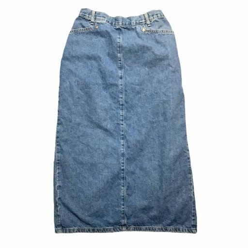 Vintage Denim Pencil Skirt 12