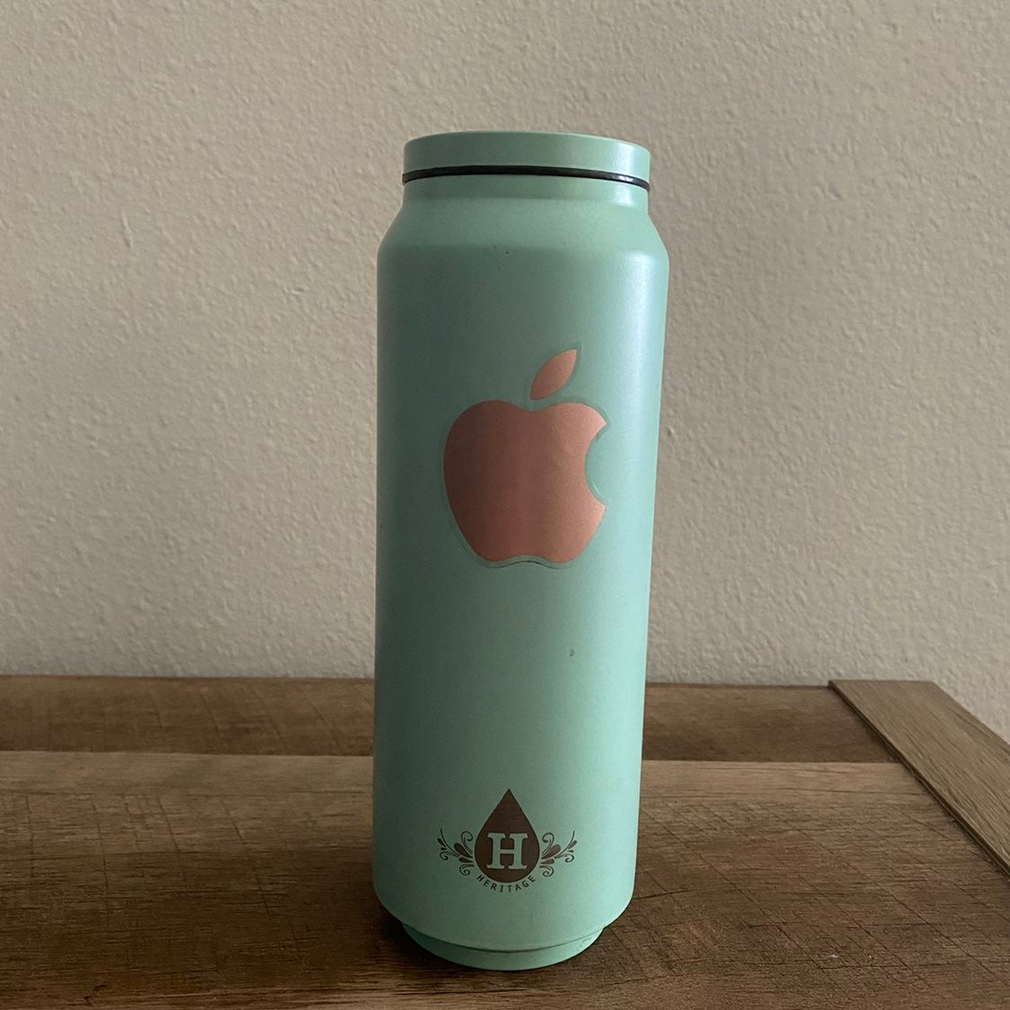 Apple Stainless Water Bottle