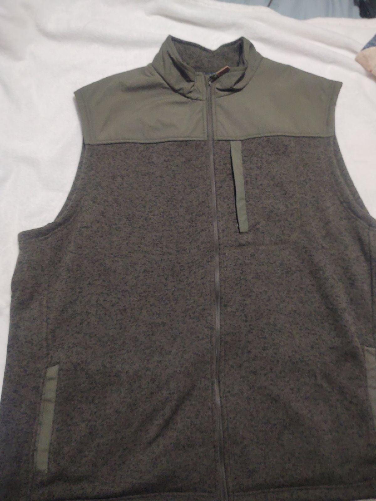 Men's 3X Fleece Vest