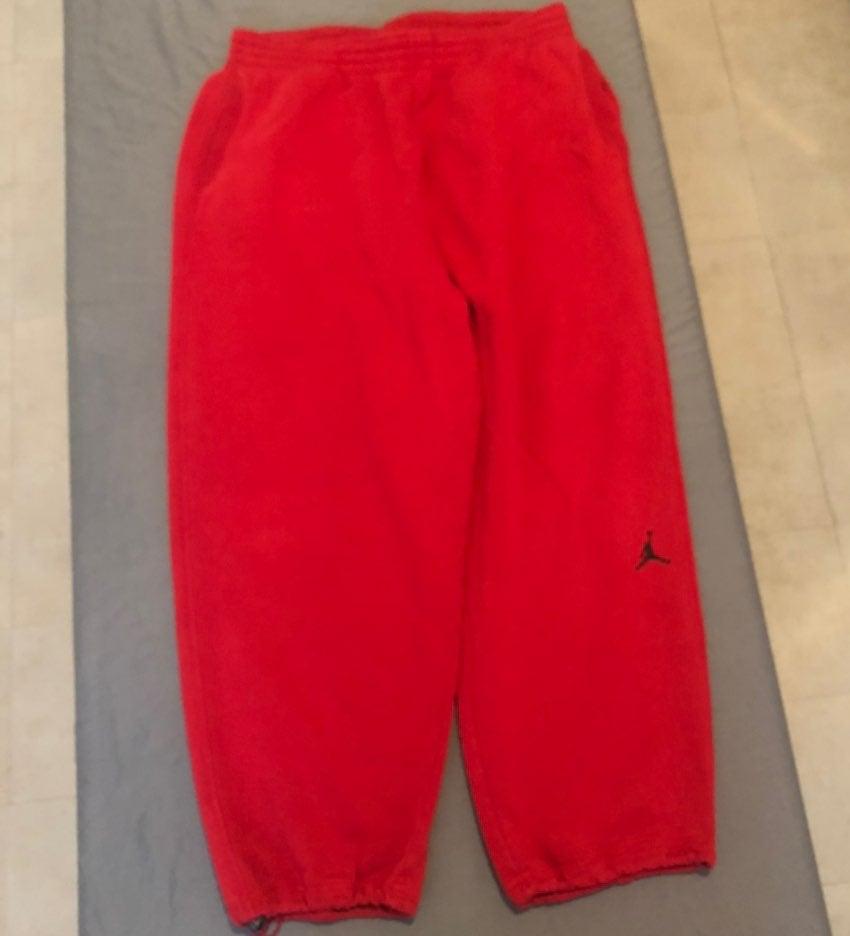 Jordan Sweatpants - Red - XXL