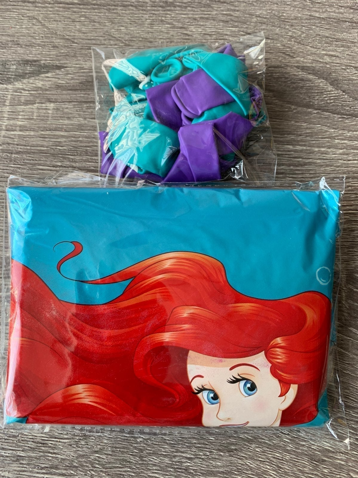 The Little Mermaid 15pcs Balloons.