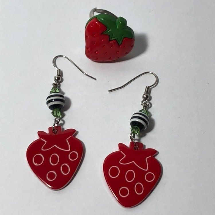 Strawberry Jewelry Lot