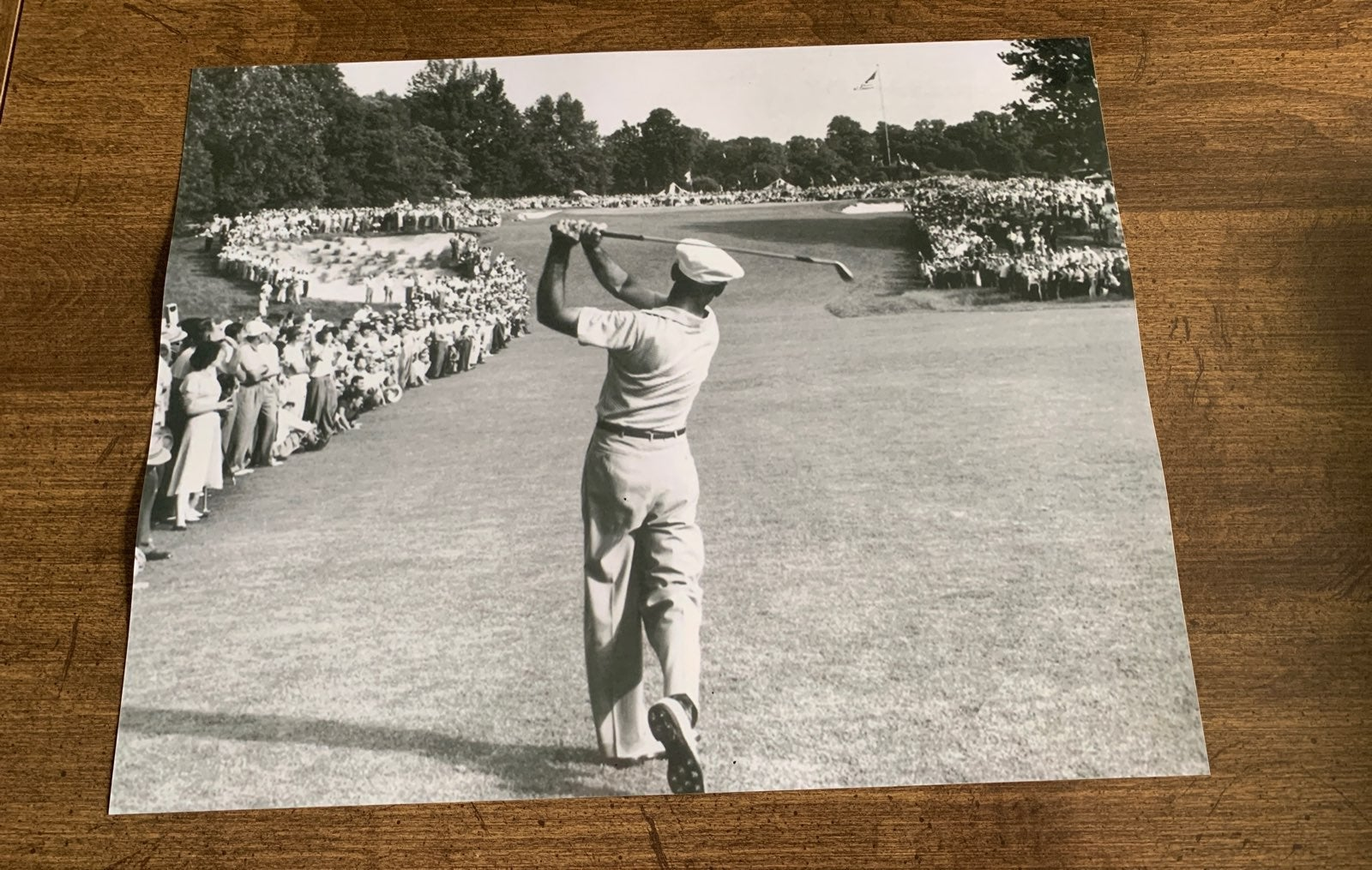 Ben Hogan 1 iron Merion golf 11x14 photo