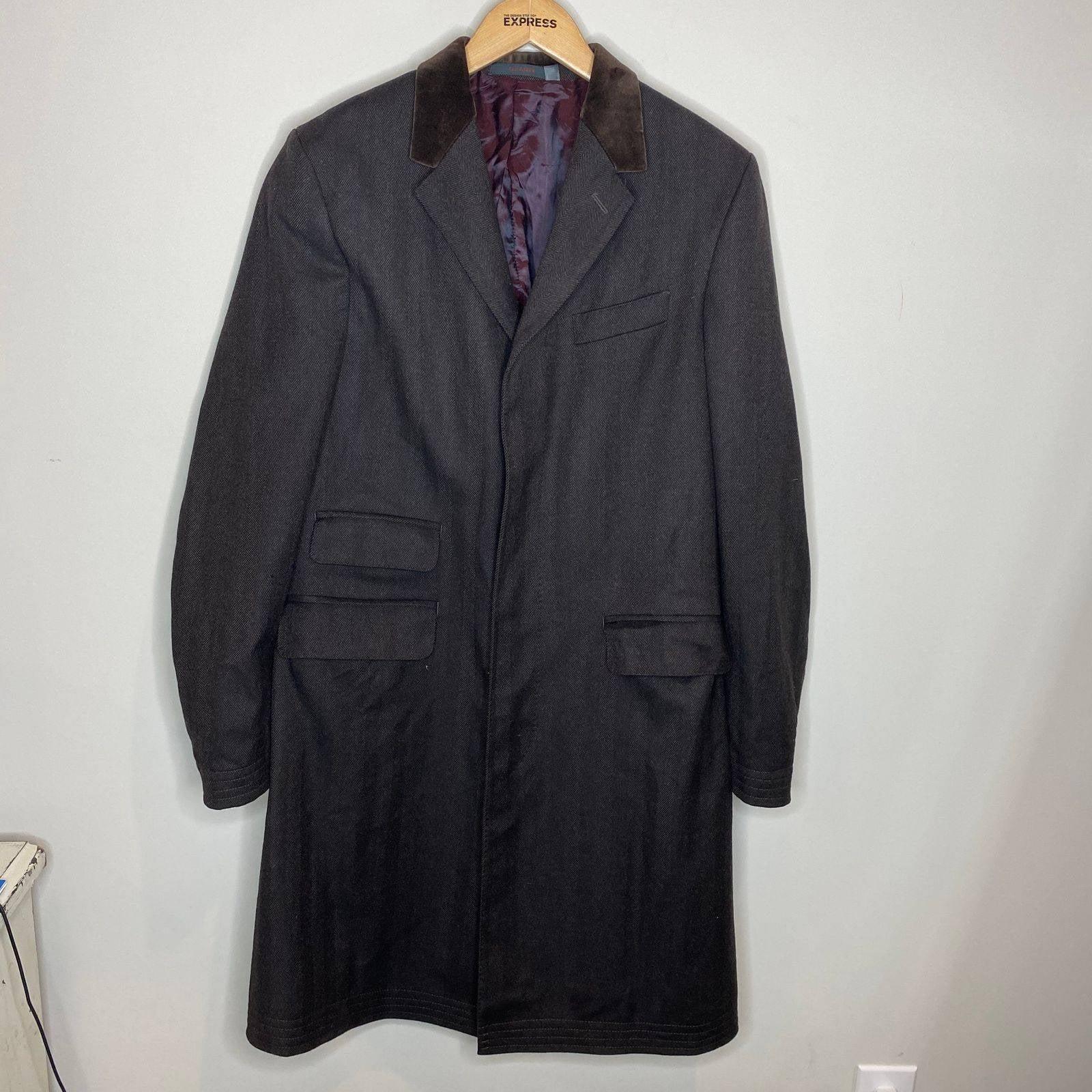 Ted Baker Endurance men's wool coat
