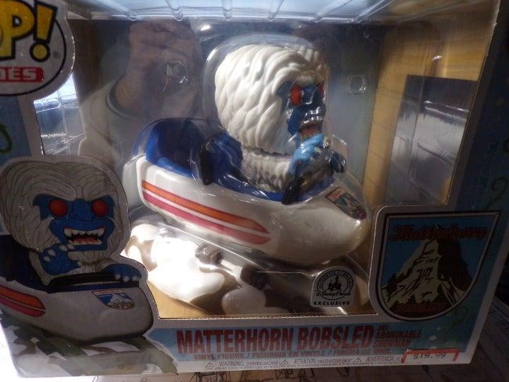MATTERHORN BOBSLED  (DISNEY RIDE) FUNKO