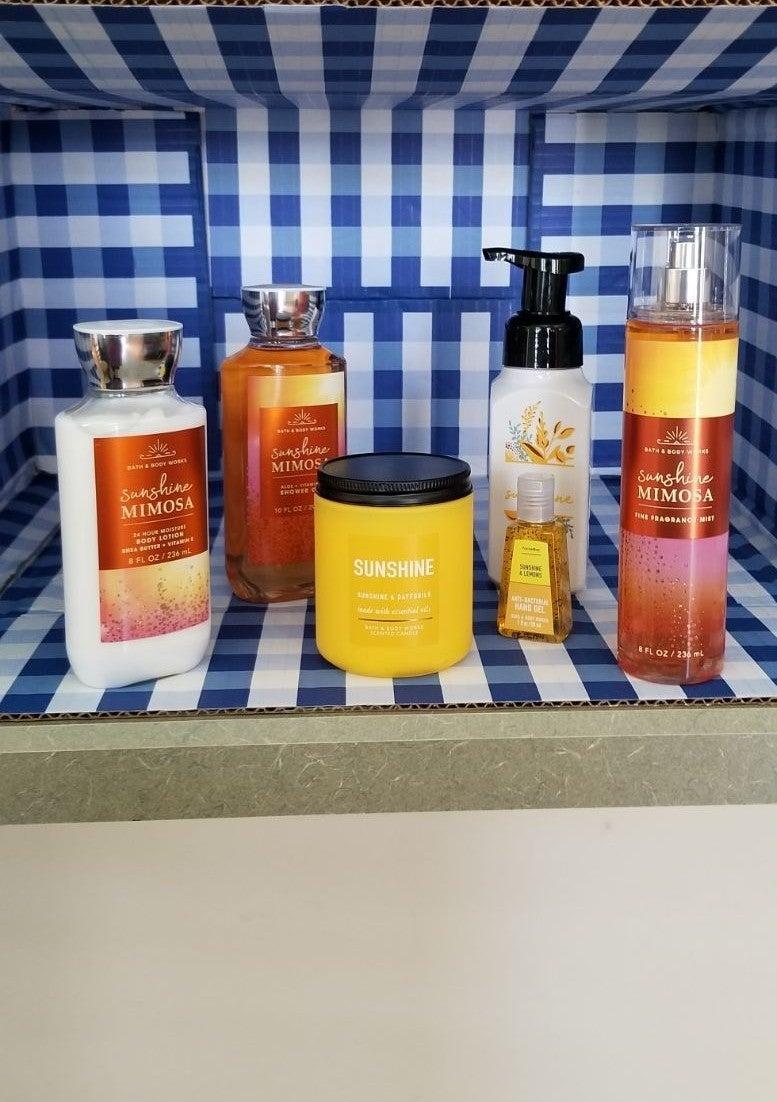 Bath & Body SUNSHINE Relaxation Bundle