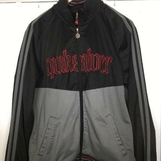 Vintage Quiksilver Track Racing Jacket
