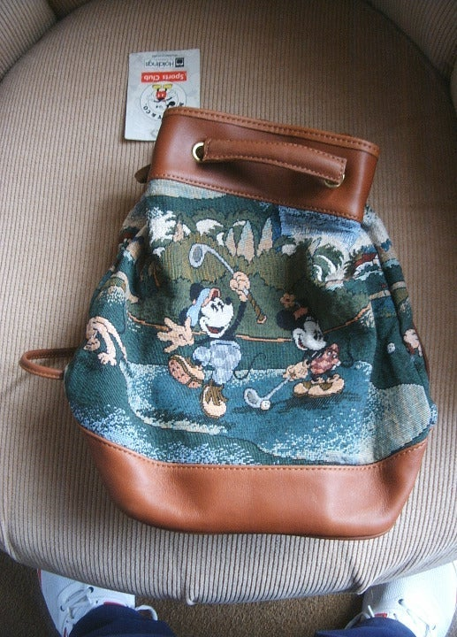 MICKEY MINNIE MOUSE BACKPACK SMALL