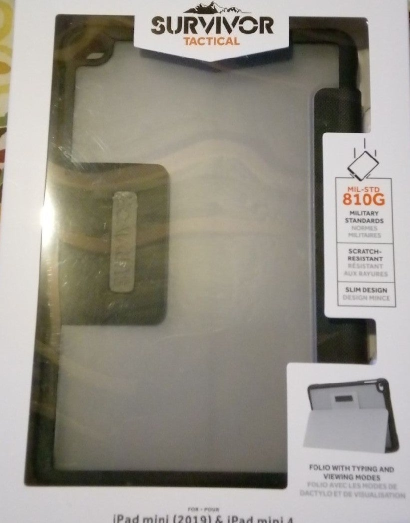 Survivor Tactical iPad Case w Folio!