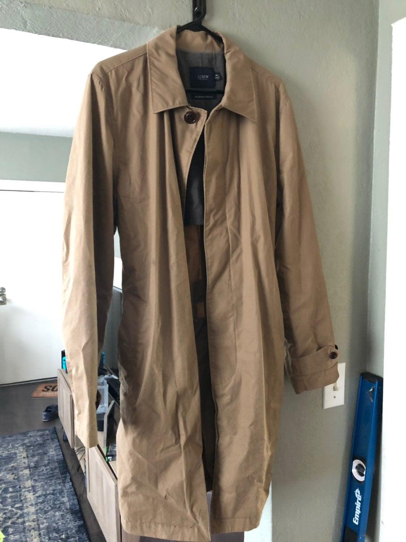 Men's J Crew Trench coat