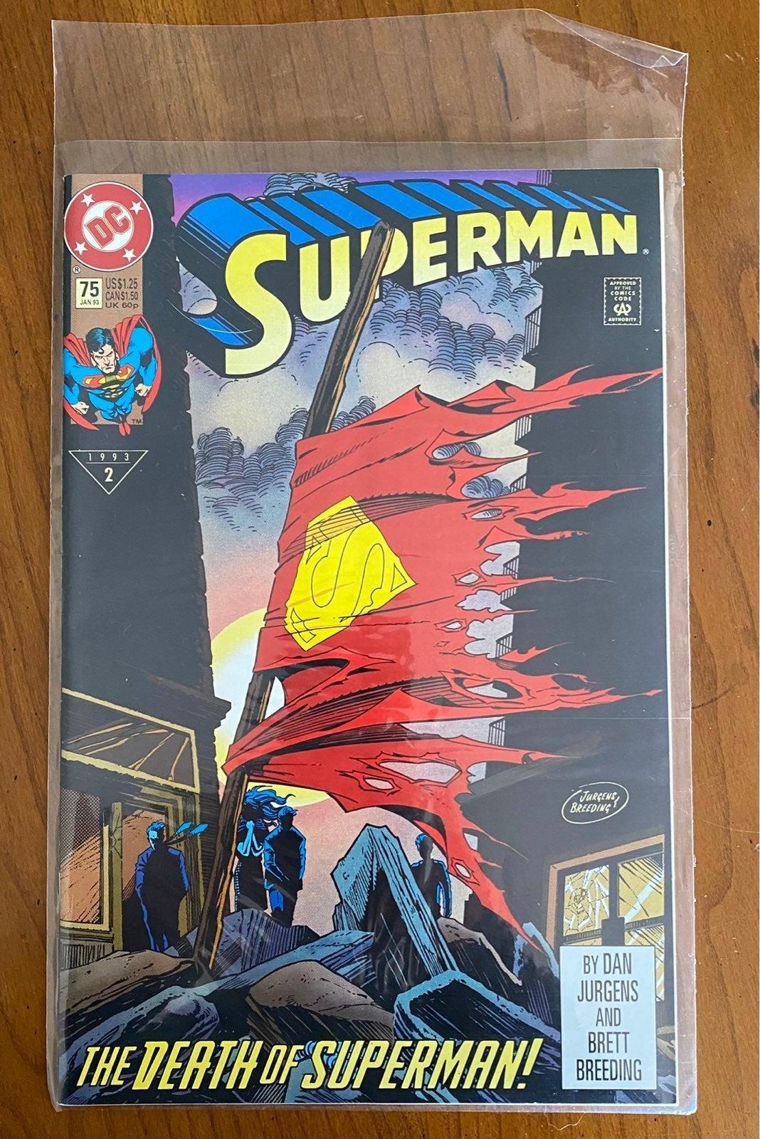 DC Comics Superman #75