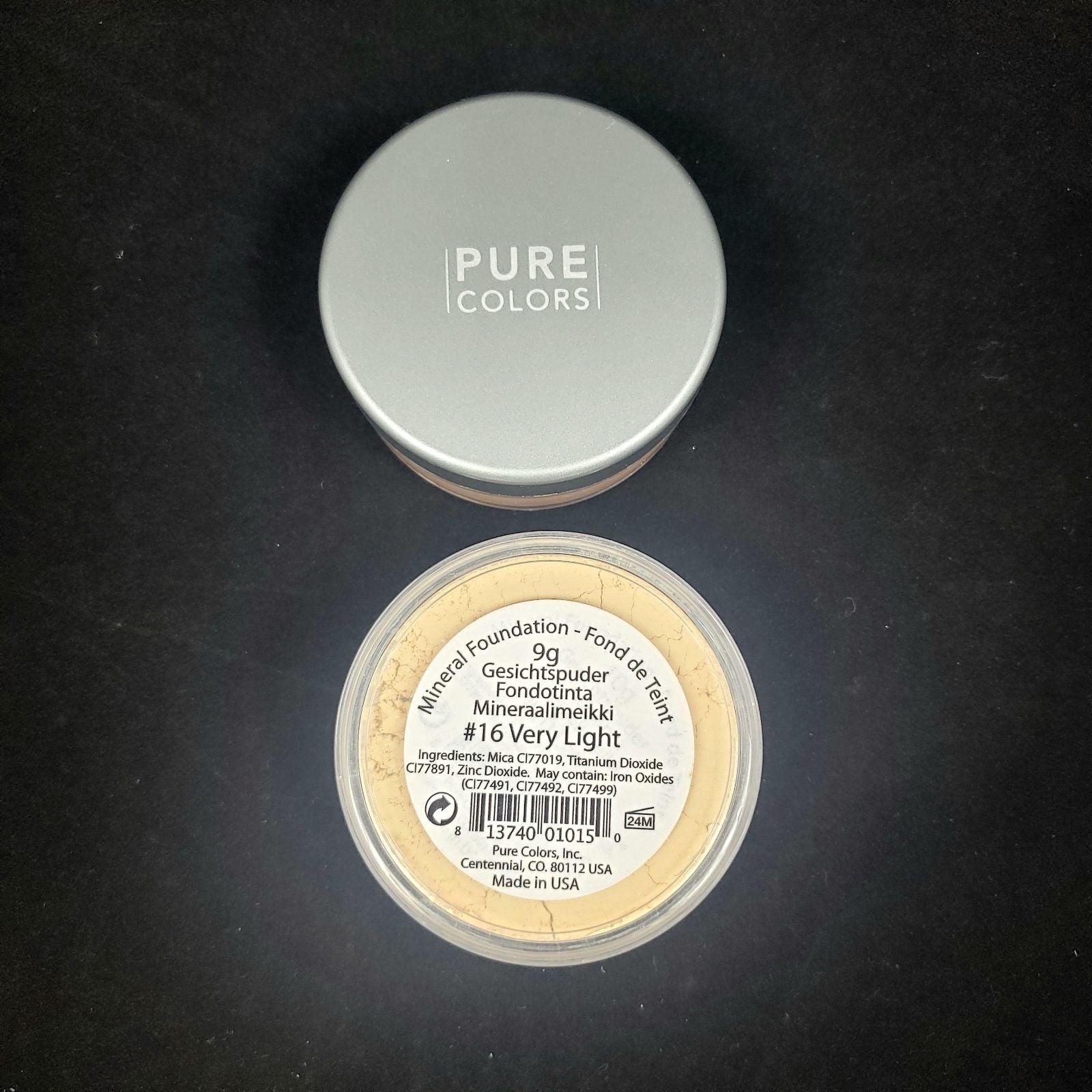 Pure Color #16 Very Light Mineral Founda