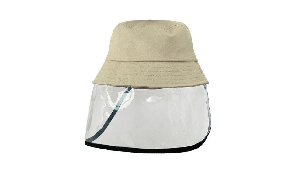 Bucket Hat W Face Cover New