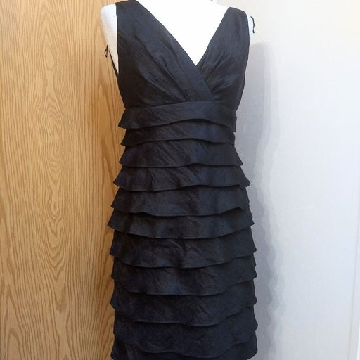 London Times layered dress