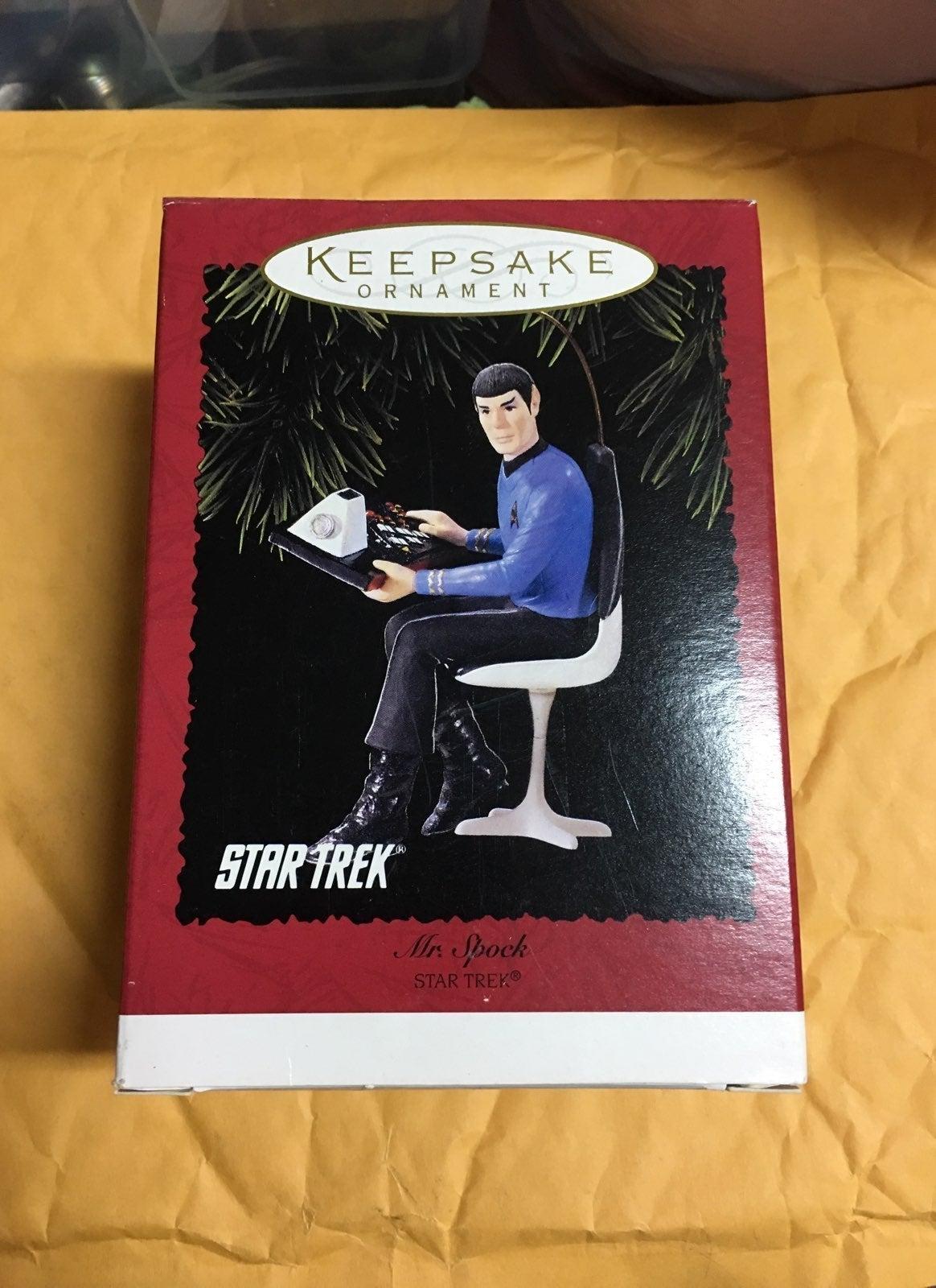 1996 Star Trek Mr. Spock Ornament NEW