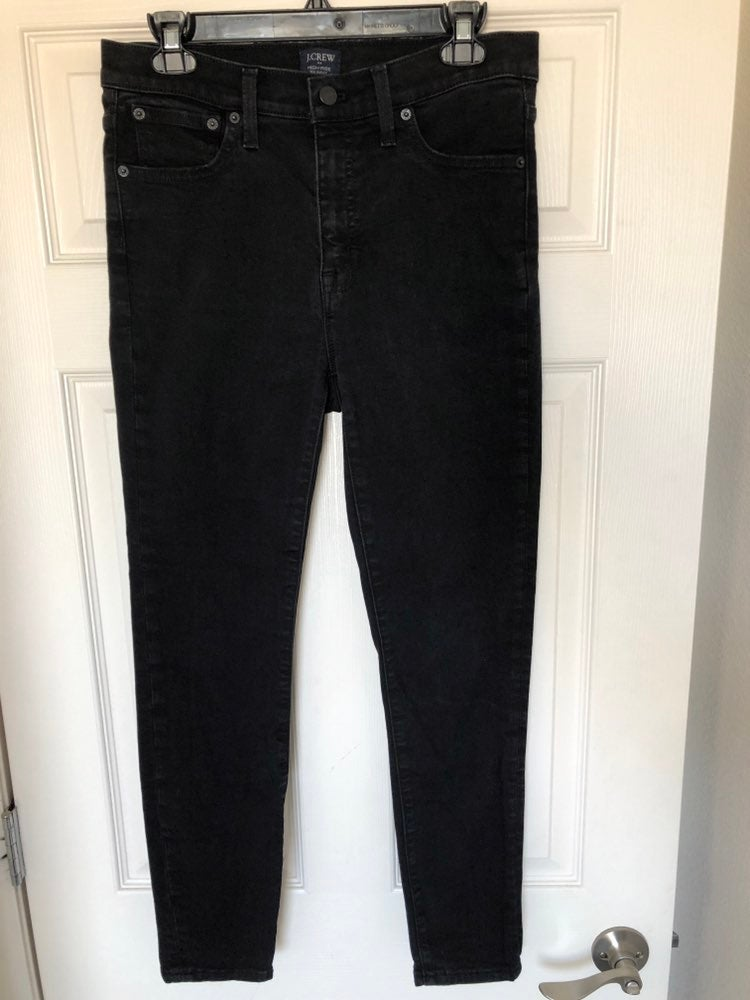 J.Crew high-rise skinny jeans - size 28