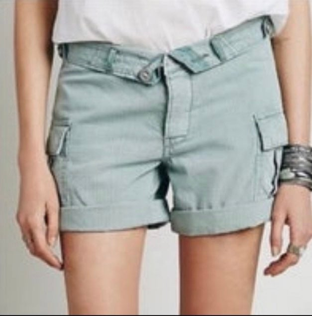 Free people cargo shorts