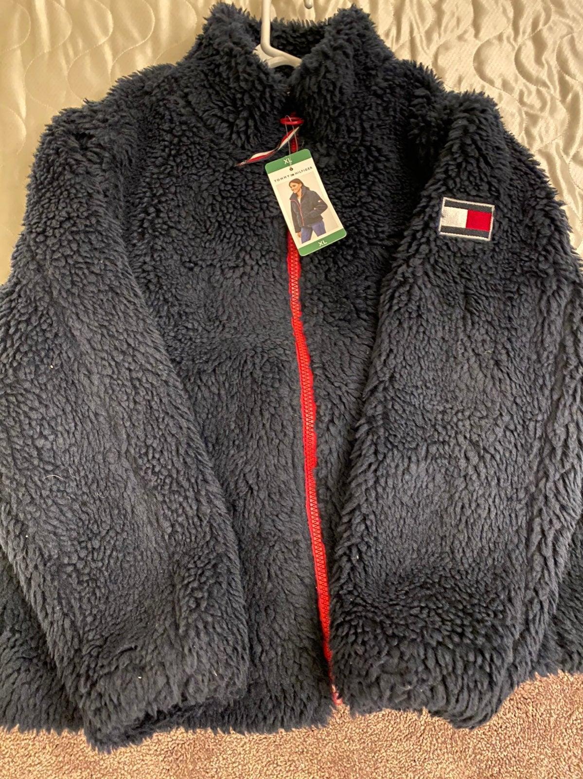 Fluffy Tommy Hilfiger jacket